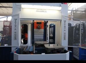 Centro di lavoro usato con cambio pallet Saimp Mectra 6 CNC FANUC 15 MA