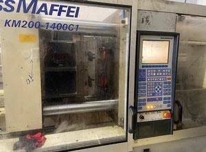 Krauss Maffei KM200-1400C1 Spritzgießmaschine