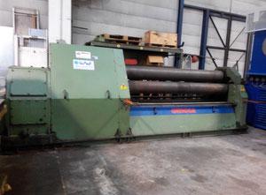 Silindir büküm makinası Omcca 2500 mm x 15 mm