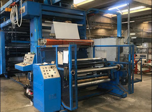 Uteco Gold 612 rr 150 flexographic machine