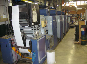 Drent Gazelle 6-T Excel Web continuous printing press