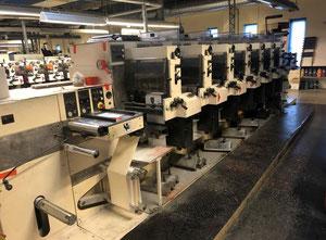 Etiket baskı makinesi Nilpeter F3000