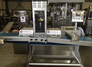 Máquina de producción, envasado y porcionado de queso Sodeva CEL350