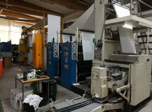 Harris R358 Web continuous printing press