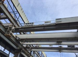 Puente grúa Kone 30 tn