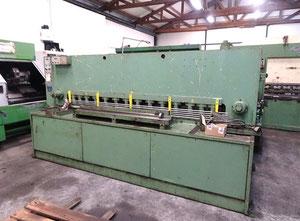 Cisaille guillotine hydraulique LVD MV 2500 x 8 mm