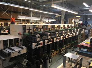 Etiket baskı makinesi Nilpeter F2400