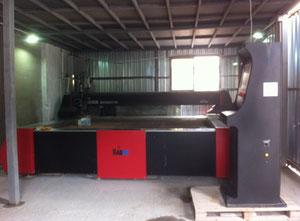 Impianto di taglio con getto ad acqua Radox 3000 mm x 2000 mm