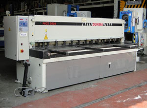 Durma HGS 3006 CNC shears