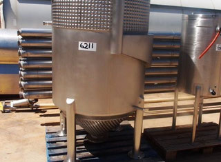 Stainless Steel Jacketed Tank 1000LT P00324057
