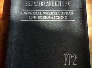 Rovinná frézka univerzální Deckel FP 2