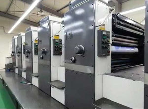 Mitsubish 3F6LX 5 Farben Offsetdruckmaschine