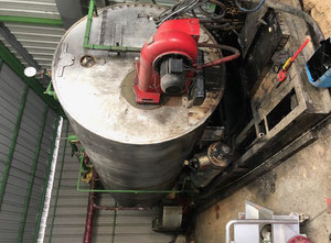 Weishaupt RMS10 Industrial boiler