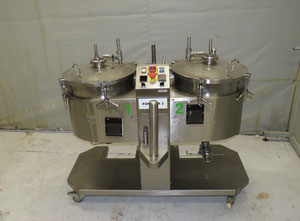 Transvis double electric melter Behalter