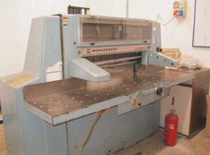 Used Wolhenberg 92 Paper guillotine