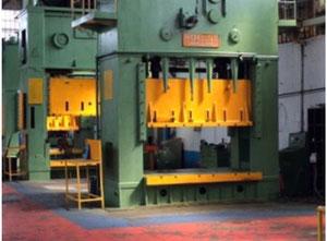 Used Radaelli Delfino 350 mechanical double uprights press