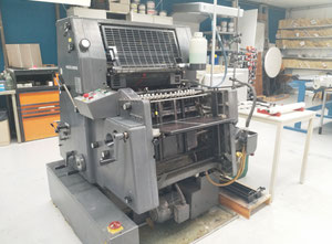 Heidelberg GTO52 with N&P Offsetdruckmaschine