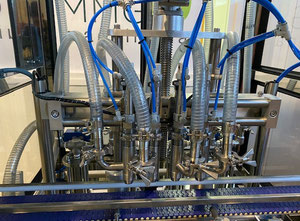 New packaging line for cosmetic creams made of 316 stainless steel