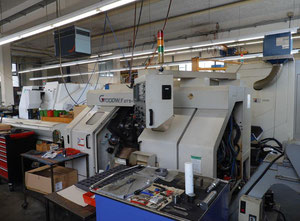 Goodway Machine Corp GTS 150 MMX Drehmaschine CNC
