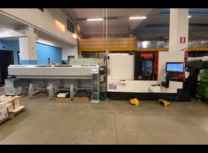 Used Mazak QT 200 MSY X 500 Smooth G cnc lathe