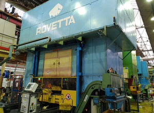"Used Double sided mechanical press ""CE"" Rovetta 630 Ton metal press"