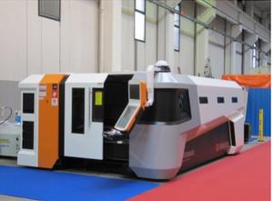 Řezačka - laserový řezací stroj Ermaksan Fiber 18000 mm x 4000 mm