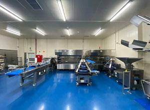 Línea completa de producción de panes WP-Haton Crustica -