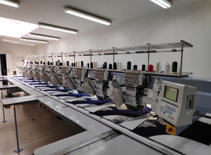 Barudan BEVS - HLZ1210 Embroidery machine