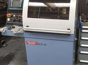 Smerigliatrice a lama HSS a 4 assi controllata da CNC e sega a segmenti Schmidt Tempo ECE 45/4