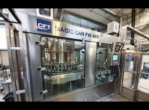 Şişeleme ünitesi CFT MAGIC CAN FW 40/6