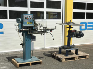 Alo Teknik 182-100B band saw blade setting machine and coiler