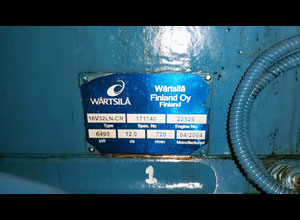 Wartsila 16V-32LN-CR Generator