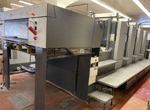 Used Heidelberg CD102-4 Offset four colours