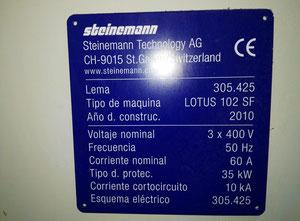 Laminatrice Steinemann Lotus 102 SF