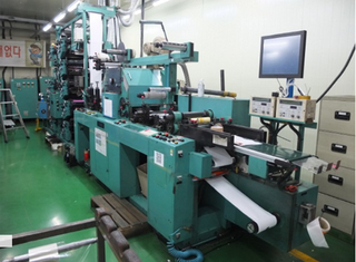 Sanki 250A letterpress label press P00417013
