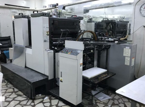 Offset dos colores Komori Lithrone 228