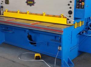 Used Somo 2000 X 6 Mm mechanical shear