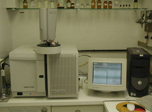 GCMS Varian 3900 GC Saturn 2100T MS Analysegerät