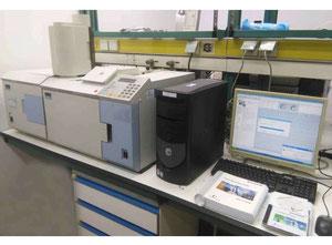 GC/MS Perkin Elmer Analysegerät