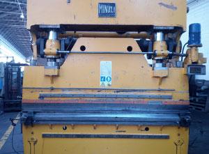 Minali 150 T x 30 mm Листогибочный пресс с ЧПУ