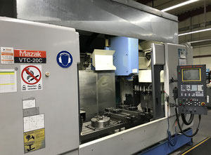 Pionowe centrum obróbcze Mazak VTC 20 C