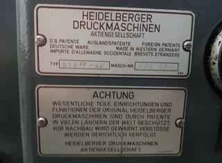 Heidelberg GTO  FP-52 P00426011