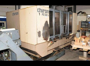 CHIRON FZ 22 L Machining center - vertical