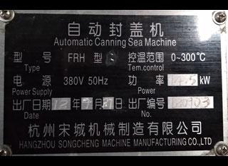 Hangzhou Songcheng Machinery FRH-3 (Instant Noodle bowl automatic sealing maсhine) P00428018