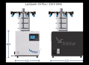 Telstar Lyo Quest 55plus Freeze dryer Laboratory equipment