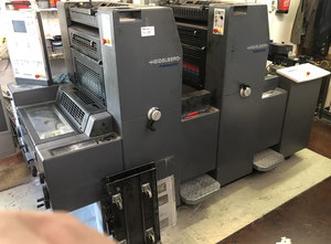 Ofsetový dvoubarevný stroj Heidelberg PM52-2