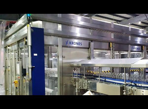 Temizlik  ve sterilizasyon makinesi Krones Modulejet K563E41