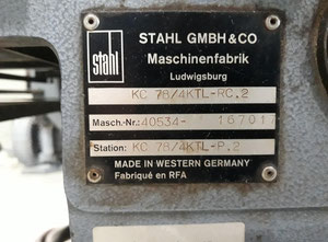 Stahl KC 78/4 KTL-RC.2 Falzmaschine