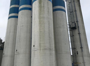 Spiromatic Flour Silo Behalter