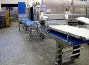 Ligne de production de croissants / biscuits SEEWER RONDO Compactline SPF 602